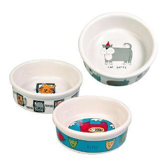 TRIXIE (Трикси) - Миска для кошек 1 шт. (керамика, диаметр 11,5 см, 0,2 л)