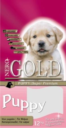 Nero Gold Super Premium Puppy 30/19 (Неро Голд Супер Премиум Паппи 30/19) - Корм для щенков всех пород (курица и рис) 2,5 кг
