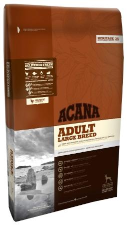 Acana Adult Large Breed (Акана Эдалт Лардж Брид) - Корм для взрослых собак крупных пород 17 кг