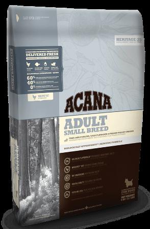 Acana Adult Small Breed (Акана Эдалт Смол Брид) - Корм для взрослых собак мелких пород 2 кг
