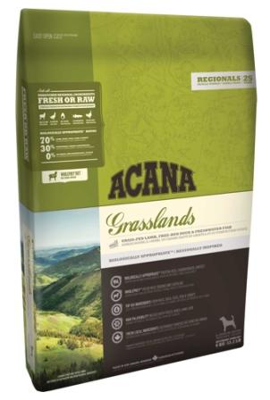 Acana Grassland Dog (Акана Грэсслэнд Дог) - Корм для собак всех пород и возрастов с ягненком (БЕЗЗЕРНОВОЙ) 11,4 кг