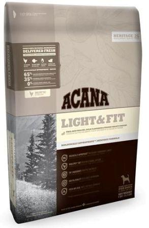 Acana Light&Fit (Акана Лайт энд Фит) - Корм для взрослых собак всех пород низкокалорийный 6 кг
