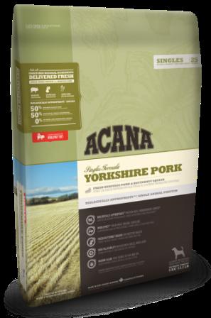Acana Pork&Squash (Акана Порк энд Скваш) - Корм для собак всех пород и возрастов гиппоаллергенный (свинина с тыквой) 0,34 кг