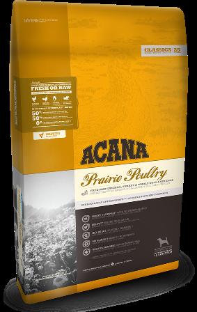 Acana Prairie Poultry (Акана Прери Полайтри) - Корм для щенков и собак всех пород с курицей 0,34 кг