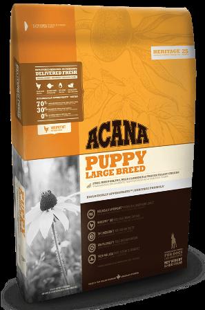 Acana Puppy Large Breed (Акана Паппи Лардж Брид) - Корм для щенков крупных пород 17 кг