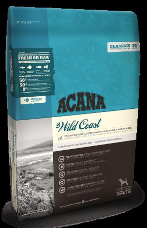 Acana Wild Coast (Акана Вайлд Кост) - Корм гипоаллергенный для щенков и собак всех пород с рыбой 6 кг