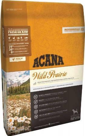 Acana Wild Prairie Dog (Акана Вайлд Прерия Дог) - Корм для собак всех пород и возрастов с курицей (БЕЗЗЕРНОВОЙ) 2 кг