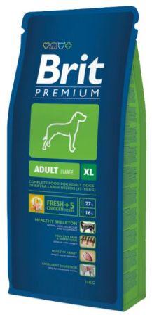 Brit Premium Adult XL (Брит Премиум Эдалт ХЛ) - Корм для собак гигантских пород 15 кг