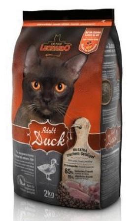Leonardo (Леонардо) - Сухой корм для взрослых кошек на основе утки и риса для чувствительного пищеварения 0,4 кг