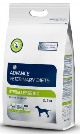 Advance - Гипоаллергенный корм для собак с проблемами ЖКТ и пищевыми аллергиями 2,5 кг (вет. корма)