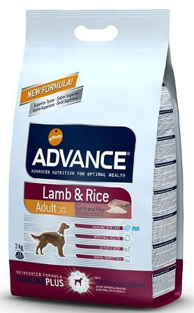 Advance - Для собак с ягненком и рисом 3 кг (Lamb&Rice)