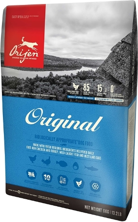 Orijen Adult 85/15 (Ориджен Эдалт 85/15) - Корм для собак всех пород с курицей (БЕЗЗЕРНОВОЙ) 0,34 кг
