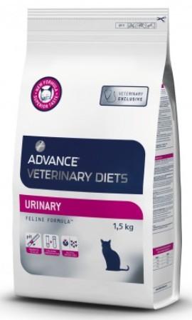 Advance - Для кошек при мочекаменной болезни 1,5 кг (Urinary) (вет. корма)