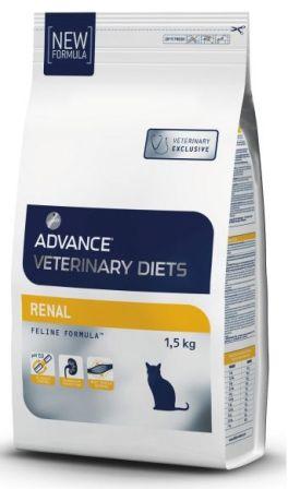 Advance - Для кошек при почечной недостаточности 1,5 кг (Renal Failure) (вет. корма)