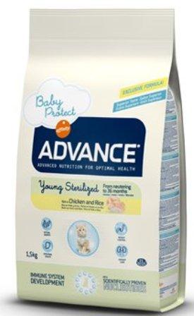 Advance - Для стерилизованных кошек до 3 лет 1,5 кг (Young Sterilized)