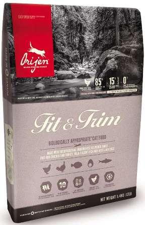 Orijen Cat Fit&Trim (Ориджен Кэт Фит энд Трим) - Корм для кошек с лишним весом 5,4 кг