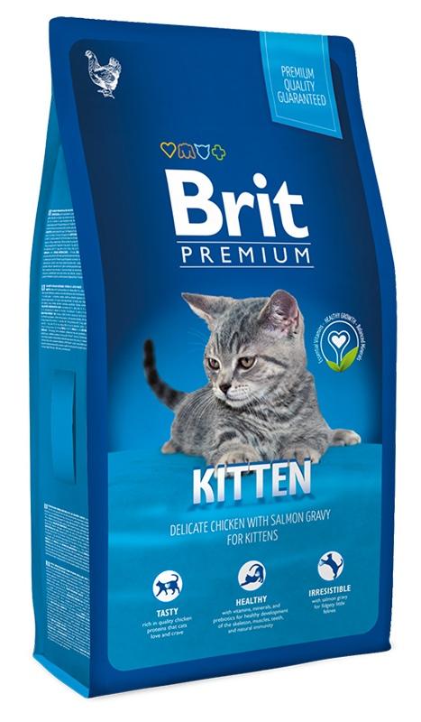 Brit Premium Kitten (Брит Премиум Киттен) - Корм для котят 1,5 кг