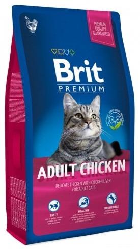 Brit Premium Cat (Брит Премиум Кэт) - Корм для взрослых кошек 8 кг