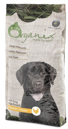 Organix (Органикс) -  Корм для собак крупных пород 18 кг