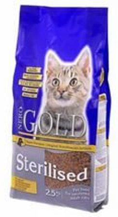 Nero Gold Super Premium Cat Sterilized (Неро Голд Супер Премиум Кэт Стиралайзд) – Сухой корм для профилактики МКБ у стерилизованных кошек 0,8