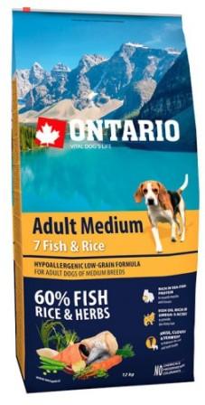 Ontario (Онтарио) - Для собак с 7 видами рыбы и рисом 2,25 кг