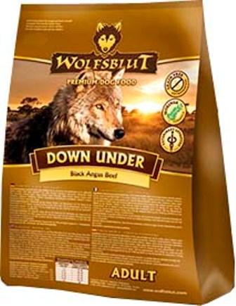 Wolfsblut Down Under (Вулфсблат Дан Андер) - Корм для взрослых собак всех пород Волчья кровь Австралийская говядина (говядина, буйвол, тыква и сладкий картофель) 15 кг