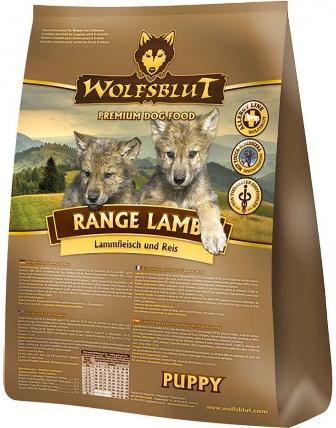 Wolfsblut Range Lamb Puppy (Вулфсблат Ранж Лэмб Паппи) - Корм для щенков всех пород Волчья кровь Рацион с ягненком (ягненок, рис и яблоки) 15 кг