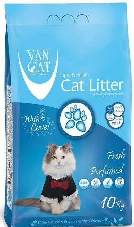 VanCat (ВанКэт) - Комкующийся наполнитель бентонитовый, с ароматом марсельского мыла, без пыли 5 кг