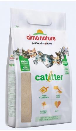 Almo Nature Cat Litter - 100% Натуральный биоразлагаемый комкующийся наполнитель 2,27 кг