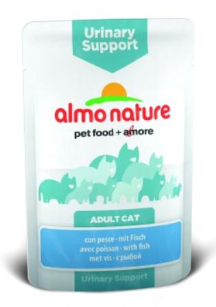 Almo Nature Functional Urinary- Паучи для профилактики МКБ с рыбой 70 гр