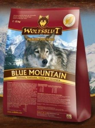 Wolfsblut Blue Mountain (Вулфсблат Блю Маунтин) - Корм для взрослых собак всех пород Волчья кровь Голубая гора (оленина, кролик и картофель) 15 кг