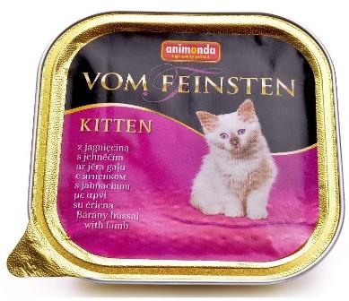 Animonda Vom Feinsten Kitten - Консервы для котят с ягненком 100 гр