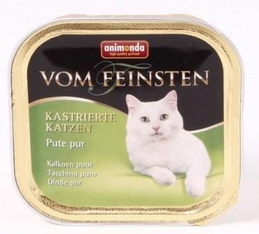 Animonda Vom Feinsten Castrated cat - Консервы для кастрированных кошек с отборной индейкой 100 гр