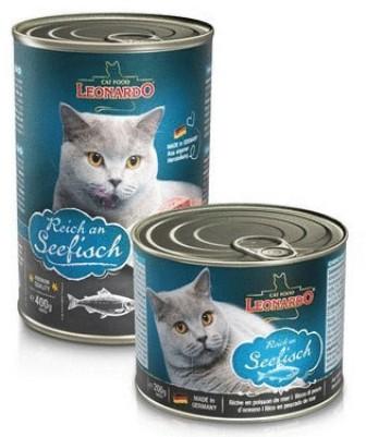 Leonardo (Леонардо) - Консервы для кошек Отборное мясо с рыбой 200 гр