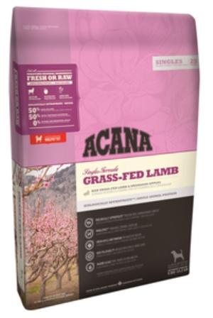 Acana Grass-Fed Lamb (Акана Грасс Фид Лэмб) - Корм для собак всех пород и возрастов гипоаллергенный (беззерновой ягненок с яблоком) 17 кг