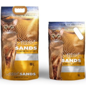 SAVANNA SANDS - Наполнитель комкующийся без запаха 5 л