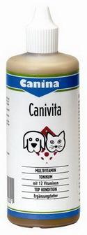 Canina Canivita (Канина Канивита) - Витаминная добавка для животных мультивитаминная на оснве масла энотеры для животных 250 гр