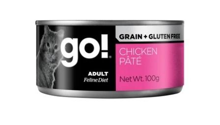 Go!Natural! (Гоу!Нэтурал!) - Консервы беззерновые с курицей для кошек 100 гр