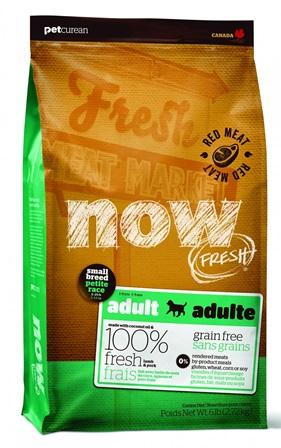 Now!Fresh! Grain Free Small Breed Red Meat Recipe 27/17 (Нау!Фреш! Грейн Фри Смол Брид Рэд Мит Ресайп 27/17) - Корм для собак мелких пород всех возрастов (БЕЗЗЕРНОВОЙ, ягненок и овощи) 11,35 кг