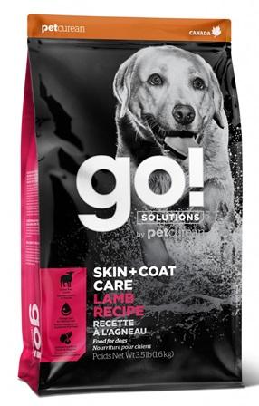 Go!Natural! Skin&Coat Lamb DR (Гоу!Нэтурал! Скин&Коат Лэмб ДР) 22/14 - Корм для собак всех пород и возрастов (с ягненком) 11,34 кг