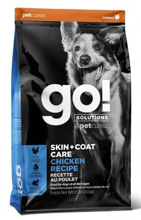 Go!Natural! Skin&Coat Chicken DR (Гоу!Нэтурал! Скин&Коат Чикен ДР) 24/14 - Корм для собак всех пород и возрастов (с курицей, фруктами и овощами) 1,59 кг