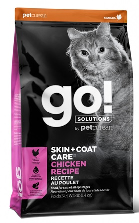 Go!Natural! Skin&Coat Chicken Cat (Гоу!Нэтурал! Скин&Коат Чикен Кэт) 32/20 - Корм для кошек всех пород и возрастов (с курицей, фруктами и овощами) 0,1 кг