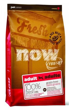 Now!Fresh! Adult Lamb Venison 24/16 - Беззерновой для Взрослых Собак с Олениной и Ягненком 11,35 кг