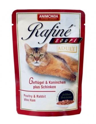 Animonda - Паучи для кошек с птицей, кроликом и ветчиной 100 гр