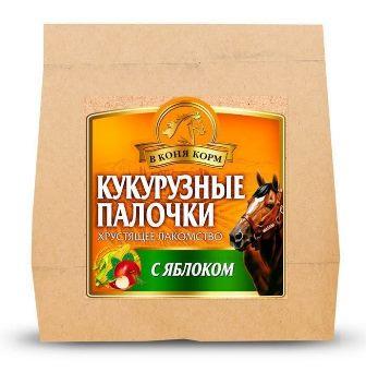 Палочки кукурузные (яблоко) 450 гр