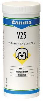 Canina V25 Vitamintabletten (Канина B25 Витаминтаблеттен) - Витаминная добавка для щенков, беременных и кормящих собак 30 таб.