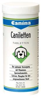 Canina Caniletten (Канина Канилеттен) - Витаминная добавка для собак, рекомендуется беременным и кормящим собакам 500 таб.
