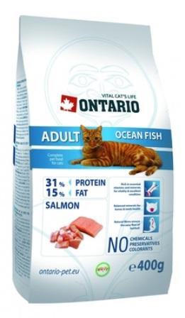 Ontario (Онтарио) - Для взрослых кошек морской рыбой 10 кг