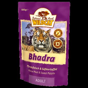 Wildcat Bhadra - Паучи для кошек (конина и сладкий картофель) 100 гр