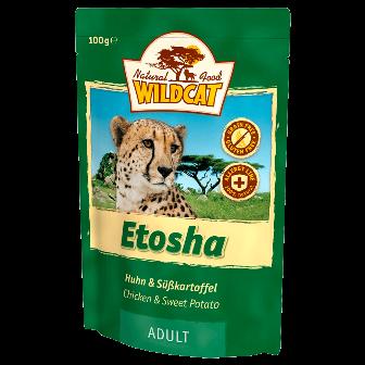 Wildcat Etosha - Паучи для кошек (курица и лесные ягоды) 100 гр